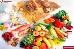 Bổ sung nhiều thực phẩm giàu chất xơ và chứa ít nhất purin